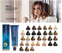Wella-Koleston Perfect Professional Permanent Hair Tint Dye - PURE NATURALS