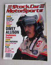 Stock Car And Motorsports Magazine Vintage 1988 Davey Allison Nascar Racing