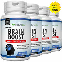 Brain Booster Nootropics Supplements Focus Limitless Pills Memory Concentration