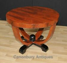 Art Deco Side Table Cocktail Tables Mahogany Furniture