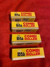 4 x BULL BRAND CIGARETTE ROLLING ADJUSTABLE MACHINES SLIM & ULTRA COMBI ROLLER