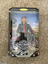 Nib Barbie Harley Davidson 1997 Limited Edition Blonde Barbie