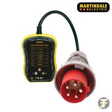 Martindale PC105 trifase industriale Socket Tester 63 bis | 7 CABLAGGIO condizione Check