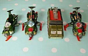 Dinky Toys 3 x 351 Shado UFO Interceptor 1 x 353 Shado 2 For Restoration