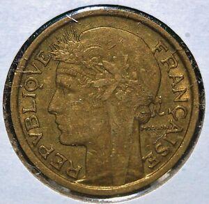 France, 1938 - 50 Centimes - Aluminum -Bronze - KM # 894.1