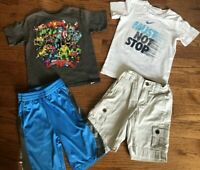 Boys Size 6 Nike Jumping Beans Shirt Shorts Lot Marvel Hero Arizona Kids Summer
