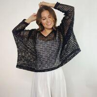 Free People Oversized Loose Knit Sweater Women's Size XS