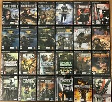 War Shooter games (Playstation 2) Ps2 Tested