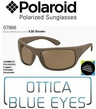 Occhiali da Sole POLAROID Polarized Sunglasses 07886 k30 BROWN Sonnenbrille New