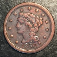 1850 Large Cent - High Quality Scans #F629