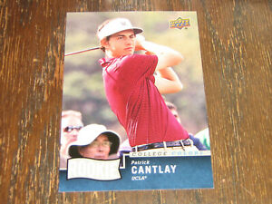 2014 Upper Deck College Colors Patrick Cantlay Rookie Card
