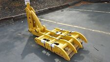 "New 32"" x 69"" Heavy Duty Mechanical Thumb for Backhoes"