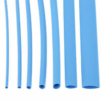 BLUE HEAT SHRINK TUBING SLEEVE ELECTRICAL CAR CABLE SLEEVING 2:1 TUBE 7 Sizes