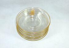 Eight Glass Plate plate Belgium Val St Lambert um 1900