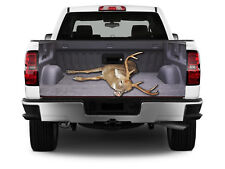 T313 Deer Tailgate Wrap Vinyl Graphic Decal Sticker LAMINATED