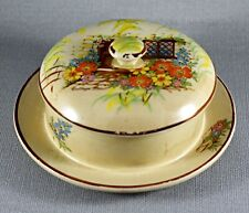 More details for vintage arthur wood cheese butter dish c1950