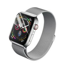 2x Curved Full Screen Protector Hydrogel Schutzfilm für Apple Watch 4 - 44mm