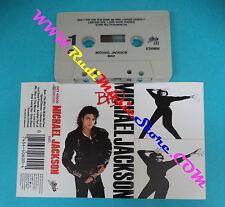 MC MICHAEL JACKSON Bad 1987 EPIC OET 40600 no cd lp dvd vhs