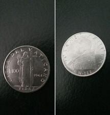Città del Vaticano moneta 100 lire Papa Giovanni XXIII del 1961