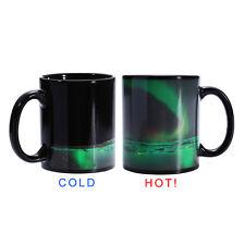 US Color Changing Ceramics Splendid Amazing Aurora Heat Sensitive Coffee Tea Mug