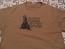 Large- Jesus Rocks T- Shirt