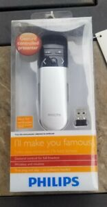 Philips Wireless Presenter Remote Air Mouse PowerPoint Presentation Clicker,