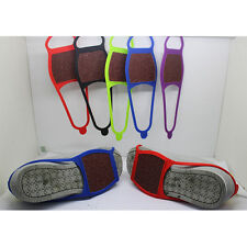 Anti Slip Shoe Boot Grips Ice Cleats Spikes Snow Gripper Non Slip Crampons AU.