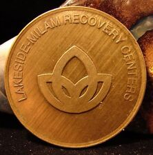 Recovery Bronze Medallion Token Coin Aa Na Narcotics Alcoholics Anonymous Br