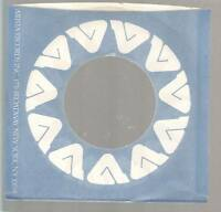Company Sleeve 45 ARISTA Blue w/ White Stylized A In Circle & Writing on