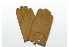 Driving Gloves Leather VINTAGE TRADITIONAL ENGLISH Fastened Driving