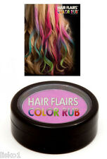 Hair Flairs Color Rub Temporary Vibrant Fun Hair Colors   .14 oz. (violet) LMS