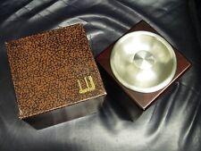 Dunhill Mahogany Wood Tobacco Jar New & Boxed