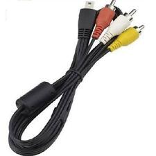 AV Video Cable for Canon Eos 70D 60D 50D T5i T4I T3I 7D SL1 SX700 SX510 SD4500