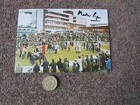 Martin PIPE  Horse Racing Trainer  CHELTENHAM Original Hand SIGNED Postcard