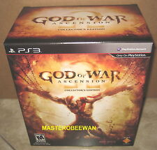 God of War: Ascension Collector's Edition New Sealed (Sony PlayStation 3, 2013)