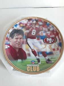 RARE STEVE YOUNG THE BRADFORD EXCHANGE NFL QB CLUB COLLECTOR PLATE 49ers