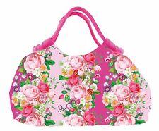 Shopper Pleats, Pink Roses, Strandtasche, Kollektion Flowers 4163, Taz Trade