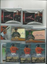 9 Asst Andrew Susac Autograph and Relic Cards Free Shipping