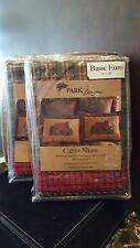 "2 New Park Designs Cabin Collection Standard Plaid Euro Sham, 26"" X 26"""