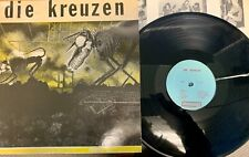 DIE KREUZEN - Die Kruezen Milwaukee PUNK rock LP 1984 1st Press with insert