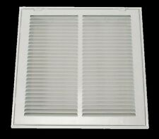 RETURN VENT COVER 14 x 20 Duct Size White Filtered Air Grille Face Wall Ceiling
