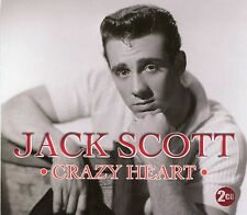 JACK SCOTT CRAZY HEART - 2 CD BOX SET - MY TRUE LOVE, LEROY & MORE