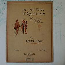 Assolo di pianoforte Brian speranza nei giorni della Regina Bess