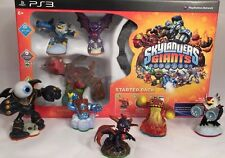 PS3 Skylanders Giants Wireless Portal 3 Action Figures Starter Pack + 5 Others