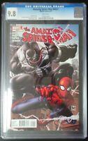 Amazing Spider-Man #654.1 Marvel Comics CGC 9.8 White Pages