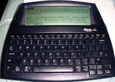AlphaSmart Dana Compact Portable Word Processor PCs/Macs W/ USB,BAG