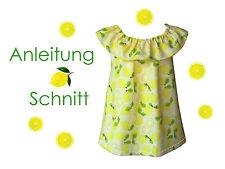 Schnitt+ Nähanleitung Rüschen-Top Gr. 68-140 als Ebook