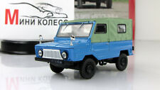 """Scale car 1:43, LuAZ-969 """"Volyn"""" autolegend Of the USSR"""