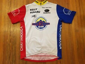 3 State Mountain Challenge Verge Sport 3/4 Zipper Cycling Jersey Men's Size M