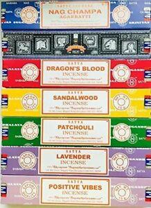 Original Satya Incense Nag Champa Incense Sticks Joss 15g BUY 5 GET ASH CATCHER